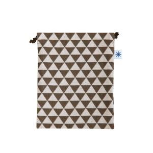 巾着中(鱗柄)日本製 綿100% ジャカード織 米沢織 米織 小紋柄 和柄 お化粧ポーチ 小物入れ デジカメ 音楽プレイヤー 充電器 能 厄除け|yozando-y