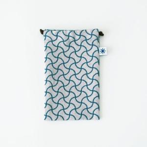 スマートフォン巾着(分銅つなぎ)|yozando-y