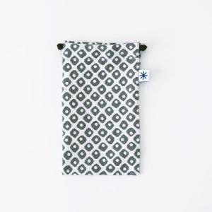スマートフォン巾着(鹿の子)|yozando-y