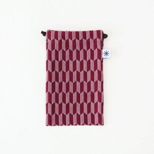 スマートフォン巾着(矢羽根)|yozando-y