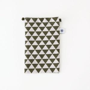 スマートフォン巾着(鱗)|yozando-y