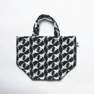 ランチバッグ(限定柄)日本製 綿100% ジャカード 米織小紋 和 弁当 ミニトート 菊花 きっか|yozando-y