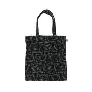 A4 フラットバッグ(鮫小紋柄)日本製 綿100% ジャカード織 伝統 米沢織 米織 小紋柄 和柄 書類 雑誌 メンズ|yozando-y