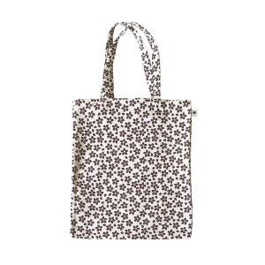 A4 フラットバッグ(桜柄)日本製 綿100% ジャカード織 伝統 米沢織 米織 小紋柄 和柄 書類 雑誌 春|yozando-y