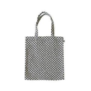 A4 フラットバッグ(鹿の子柄)日本製 綿100% ジャカード織 伝統 米沢織 米織 小紋柄 和柄 書類 雑誌 モダン|yozando-y