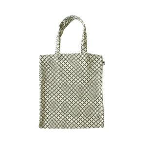 A4 フラットバッグ(七宝柄)日本製 綿100% ジャカード織 伝統 米沢織 米織 小紋柄 和柄 書類 雑誌|yozando-y
