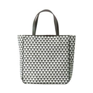 etoffe トート(鱗柄)日本製 綿100% ジャカード織 伝統 米沢織 米織 小紋柄 和柄 ビジネストート マザーズバッグ 旅行鞄 能 厄除け|yozando-y