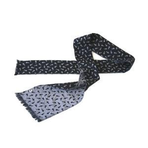ストール W24(茄子柄)日本製 綿100% ジャカード織 伝統 米沢織 米織 小紋柄 和柄 紫外線対策 日焼け UV サマーストール|yozando-y