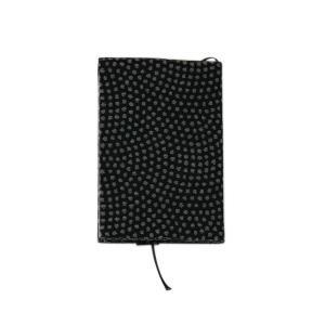 ブックカバー(鮫小紋柄)日本製 綿100% ジャカード織 伝統 米沢織 米織 小紋柄 和柄 文庫 本 読書 メンズ|yozando-y