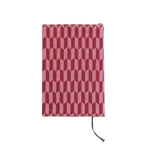 ブックカバー(矢羽根柄)日本製 綿100% ジャカード織 伝統 米沢織 米織 小紋柄 和柄 文庫 本 読書 お着物|yozando-y