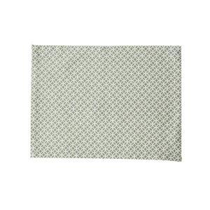 ランチョンマット(七宝柄)日本製 綿100% ジャカード織 伝統 米沢織 米織 小紋柄 和柄 和装 テーブルウェア 食卓|yozando-y