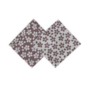 コースター2枚セット(桜)|yozando-y