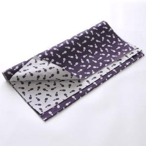カットクロス(茄子柄)日本製 綿100% ジャカード織 伝統 米沢織 米織 小紋柄 和柄 ハンドメイド 手作り|yozando-y