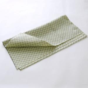 カットクロス(七宝柄)日本製 綿100% ジャカード織 伝統 米沢織 米織 小紋柄 和柄 ハンドメイド 手作り|yozando-y