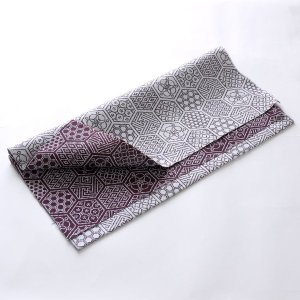 カットクロス(亀甲つなぎ柄)日本製 綿100% ジャカード織 伝統 米沢織 米織 小紋柄 和柄 ハンドメイド 手作り|yozando-y