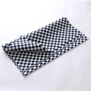 カットクロス(市松柄)日本製 綿100% ジャカード織 伝統 米沢織 米織 小紋柄 和柄 ハンドメイド 手作り|yozando-y