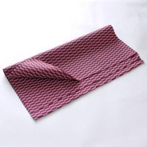カットクロス(矢羽根柄)日本製 綿100% ジャカード織 伝統 米沢織 米織 小紋柄 和柄 ハンドメイド 手作り|yozando-y