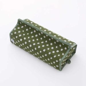 テッシュカバー(豆絞り柄)日本製 綿100% ジャカード織伝統 米沢織 米織 小紋柄 和柄 tente インテリア プレゼント ドット 新居|yozando-y
