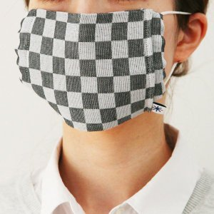 織のマスク(市松)|yozando-y