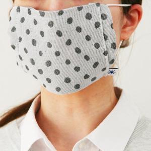 織のマスク(豆絞り)|yozando-y