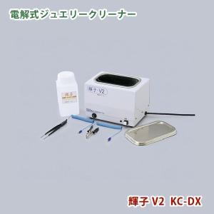 ジャパンジェムツール 電解洗浄器 輝子V2 アクセサリーなどの金属宝飾品の洗浄に イオン洗浄器 代金引換不可|yp-com