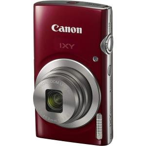 Canon コンパクトデジタルカメラ IXY 200 レッド/シルバー yrkstore