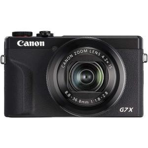 Canon コンパクトデジタルカメラ PowerShot G7 X Mark III ブラック/シルバー yrkstore