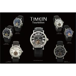 TIMEIN Tourbilon タイムイン トゥールビヨン メンズ 腕時計 手巻き 革ベルト |yrkstore
