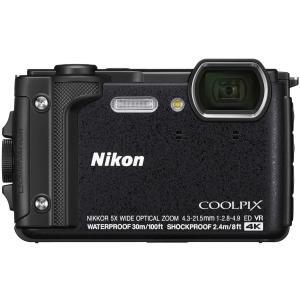 Nikon デジタルカメラ COOLPIX W300 BK クールピクス 1605万画素 ブラック 防水 耐寒 防塵 yrkstore