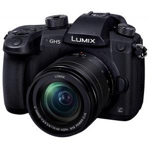 パナソニック ミラーレス一眼カメラ ルミックス GH5 レンズキット 標準ズームレンズ付属 ブラック...