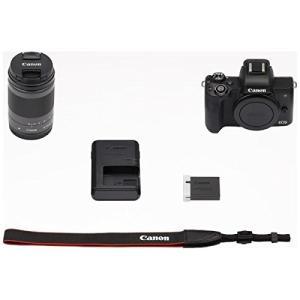 Canon ミラーレス一眼 EOS Kiss M レンズキット EF-M18-150 IS STM ブラック/ホワイト yrkstore 02