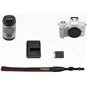 Canon ミラーレス一眼 EOS Kiss M レンズキット EF-M18-150 IS STM ブラック/ホワイト yrkstore 04