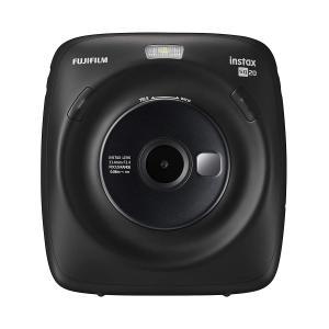 FUJIFILM ハイブリッドインスタントカメラ instax SQUARE SQ20 ブラック/ベージュ yrkstore