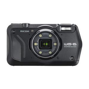 RICOH 防水デジタルカメラ WG-6  防水20m 耐ショック2.1m 耐寒-10度 耐荷重100kg リコー ブラック/オレンジ|yrkstore