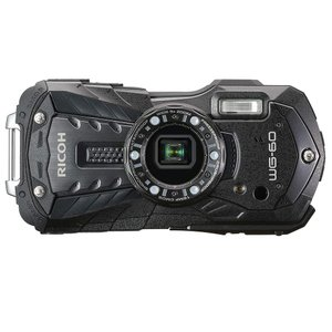 RICOH 防水デジタルカメラ RICOH WG-60 防水14m耐ショック1.6m耐寒-10度 ブラック/レッド|yrkstore