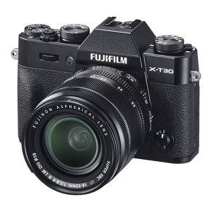 富士フイルム Xシリーズ FUJIFILM X-T30/XF18-55mmF2.8-4 R LM OIS レンズキット ブラック/シルバー yrkstore