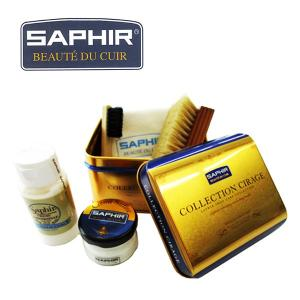 サフィール SAPHIR 靴磨き ミニJRAセット 靴のお手入れに最適 靴磨きセット スタートセット