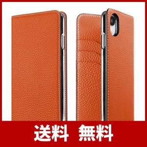 BONAVENTURA ボナベンチュラ ダイアリーケース [iPhone XR, オレンジ] BOD...