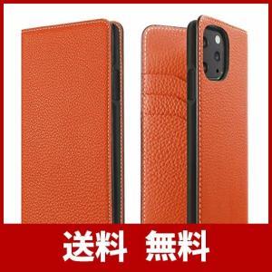 BONAVENTURA ボナベンチュラ ダイアリーケース [iPhone 11 Pro, オレンジ]...
