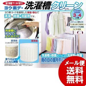 洗濯槽クリーナー ヨウ素デ洗濯槽クリーン メール便 送料無料