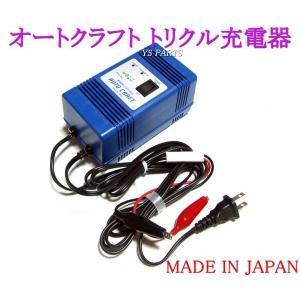 【超高品質国産品】オートクラフトトリクル充電器/維持充電器グランドアクシス/BW'S100/ジョグ100/CUSI100/キューシー100/アクシストリート等に|ys-parts-jp