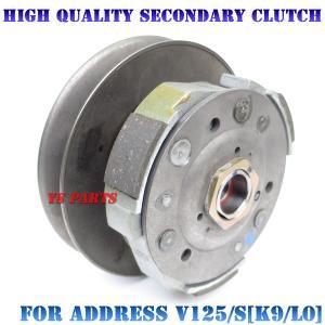 【組込済フルキット】高品質セカンダリークラッチ+カム一式 アドレスV125S(CF4MA/L0)/アドレスV125G(CF4EA/K9) ys-parts-jp