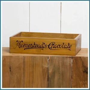 CHOCOLATE BOX 木箱 整理箱 木製ボックス 収納ボックス 収納BOX 収納ケース ウッドボックス 小物入れ 小物収納 小物収納ケース 道具箱 整理 収納|ys-prism