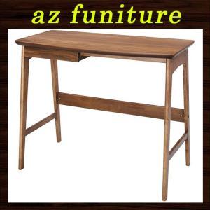 デスク パソコンデスク PCデスク 机 つくえ テーブル 木製 天然木 ウッド シンプル ナチュラル 北欧 おしゃれ 幅90cm リビング 子供部屋 書斎 送料無料