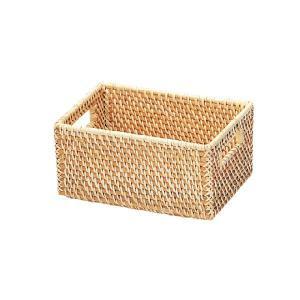 かご カゴ 籠 バスケット 店舗什器 小物入れ 小物収納 収納かご 収納カゴ おもちゃ箱 おしゃれ ナチュラル シンプル かわいい 可愛い アジアン 籐 ラタン 編み