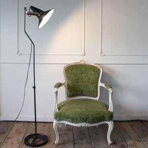 『スタジオD フロアランプ』間接照明 インダストリアル おしゃれ led対応 フロアライトブルックリン スタンドライト スタンドランプ モダン 寝室 照明 照明器具|ys-prism