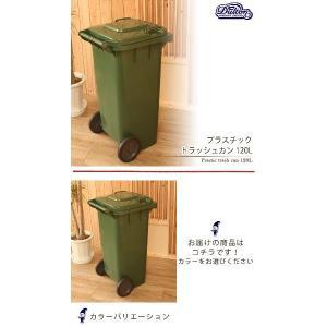 DULTON ダルトン プラスチック トラッシュカン 120L Prastic trash can 120L ゴミ箱 角型 分別 プラスチック製 かわいい ふた付き おしゃれ キャスター付き|ys-prism|02