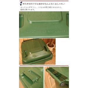 DULTON ダルトン プラスチック トラッシュカン 120L Prastic trash can 120L ゴミ箱 角型 分別 プラスチック製 かわいい ふた付き おしゃれ キャスター付き|ys-prism|04