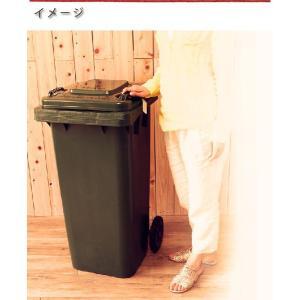DULTON ダルトン プラスチック トラッシュカン 120L Prastic trash can 120L ゴミ箱 角型 分別 プラスチック製 かわいい ふた付き おしゃれ キャスター付き|ys-prism|06