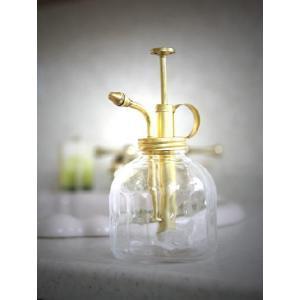 DULTON ダルトン ガラススプレー 霧吹き ミストスプレー ポンプ おしゃれ かわいい レトロ 植木鉢 ガーデニング 観葉植物 花 ガラス製|ys-prism